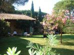 French riviera beauty villa