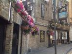 The oldest pub in London at Wapping