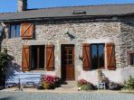 part of the front of  French Farmhouse Gite