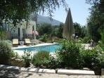 POOL, in or by the pool,you'll be surrounded by a beautiful olive grove,mountains and a lovely