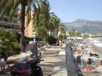 Roquebrune Cap Martin - Front of the beach, 200 meters far from the apartment