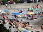 Roquebrune Cap Martin -The beach, 250 meters far from the apartment