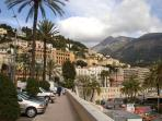 Menton - 20 minutes by foot