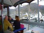 Lunch in Hout Bay Harbour