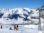 A fantastic snow board park & also ski runs perfect for beginner- intermediate