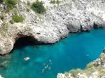 The beautiful sea of South Salento