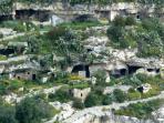 L'antico quartiere rupestre di Chiafura