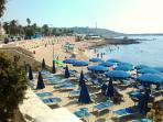 Sand beach (summer)