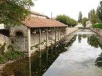 The market town of Ruffec on the Charente River is just 6 km away.