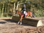 Bring your horse to Somerford Park Farm and enjoy the farm ride! It's on the doorstep!