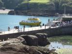 Ilfracombe Harbour, just 10 minutes walk from the house