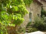 self-catering holiday cottage 'chêne', sleeps 6 people in 3 bedrooms; private entrance, ro