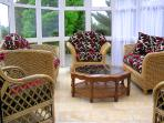 Conservatory, perfect for relaxing on a sunny day