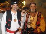 Omiš pirates in traditional outfits