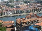 View of Porto very close to the apartment