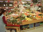 Fruit market in Agen