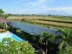 Villa Ditya stunning view from the roof terrace (back side)