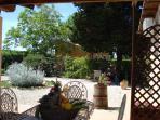 veranda Casale Giovannino - vista Policarpo