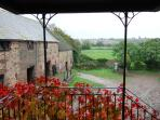 View from Front door the Granary