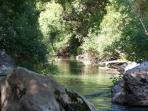 nuestro 1/2 km de río