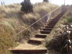 The Steps Over The Dune & to the Sea