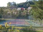 Pista de tenis/Tennis court