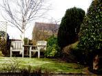 The delightful rear south facing private garden