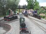 Miniature Railway in Eastbourne
