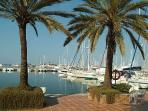 Sailing Club of Denia and new Marina of Denia
