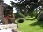Giardino e veranda