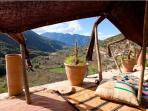 A Berber tent with a view
