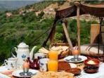 Breakfast at Dar Tassa