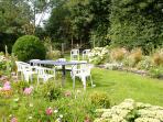 Rear guest garden.