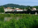 Ponte de Lima town, 12km away