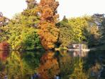 Parc de la Bouzaise, 10 minutes walk from the house