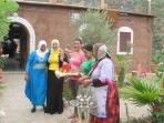 A warm welcome awaits you at Dar Tassa