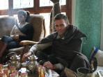 Tea making ceremony at Dar Tassa
