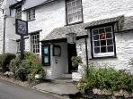 Napoleon Inn, nearby serving local real ales, great food & singers Boscastle Buoys every Tuesday