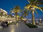 Split mean promenade