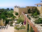The Spa gardens... relax after a swim or massage at the award winning Spa