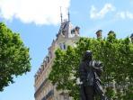 Statue of Pierre Paul Ricquett