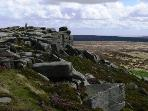 World famous Stanage Edge