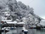 Photos of picturesque Polperro in Cornwall taken within 2-3mins walk of Sunny Corner