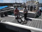 Enjoy a day game fishing on our boat 'Gavito'