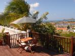 Breathe taking views of Rodney Bay Marina.