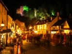 Dunster by Candlelight - a winter celebration not to be missed