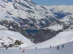 Or a better piste? Run down to Tignes Le Brevieres