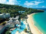 Beautiful beaches 5 mins away from your suite with courtersy buses  provided daily.