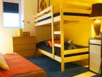 Kids' room : 1 clic-clac sofa bed for 2 people + 2 bunks beds - 2 people