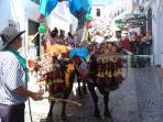Local fiesta in the village